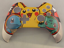 Pokemon Pikachu Hydro Dipped, Front Shell For Xbox One Controller - New