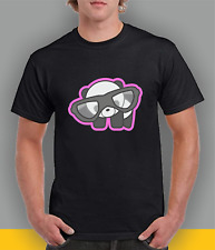 Cool Panda with Glasses T-shirt, gift idea, art project