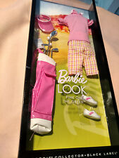 NRFB The Barbie Look Pink On The Green  Black Label  Fashion 2013