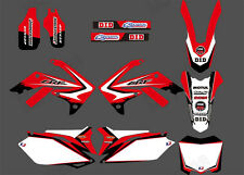 Motorcross Decal Sticker Graphic Kit For Honda CRF250R CRF250 CRF450 450R D5