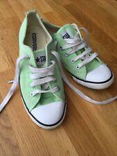 converse size 3 women green