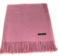 Pink Pashmina Shawl Ladies Scarf Bridesmaid Wrap Wedding Prom New Scarves