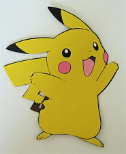 Pokemon Pikachu Paper Die Cut Scrapbook Embellishment Cupcake Topper