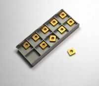 HERTEL Carbide Turning Inserts SNMA322R HC325 HCX31475H USA (10 Pcs)