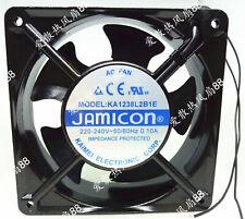 1pc new fan freeship JAMICON KA1238L2B1E 220 0.10A AC FAN