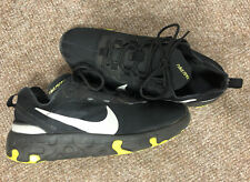 Nike Renew Trainers, Size 4, Black And Lime Green, VGC, Free P&P