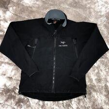 Vintage Arcteryx POLARTEC Gamma SV Softshell Fleece Insulated Black Jacket Small