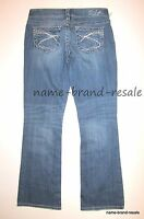 SILVER AIKO BOOTCUT Jeans Womens Juniors 29 x 31 Low Rise Boot Cut Stretch NEW