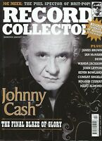 RECORD COLLECTOR No. 333  Johnny Cash Joe Meek James Brown Dion