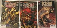 Absolute Carnage Scream  #1 , #2 AND Curse of Carnage 1 SET ALL NM Gemini Ship