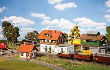 FALLER 190415 Stazione MAGAZZINO MERCI casa cantoniera Passaggio a livello NUOVO