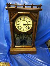 New ListingSeth Thomas Antique Mantel Clock *Omaha* Runs Fine