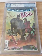 ALL STAR BATMAN 1 PGX 9.9 MINT ROMITA CHAINSAW COVER VARIANT BETTER THAN 9.8