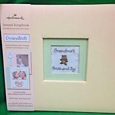 Hallmark Grandchildren/Grandparent Yellow 8x8 Instant Scrapbook Album Stickers