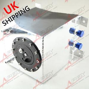 Universal Polished Lightweight Aluminum 10L /2.5 Gallon Fuel Cell Tank UK
