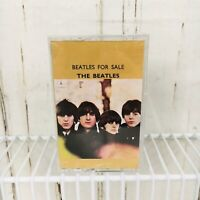 The Beatles for Sale Sealed British Remaster XDR Cassette Tape