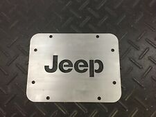 Jeep Wrangler JK/JL Tailgate Spare Tire Delete Plate 2007- Current Year.