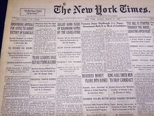 1932 MARCH 11 NEW YORK TIMES - HINDENBURG APPEALS FOR VOTES - NT 4018