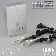 9005 80W 9600LM 6000K R3 Car Fanless Cree LED Headlight High lamp Kit Bulb White