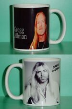 Gregg Allman - Allman Brothers Band - with 2 Photos - Collectible Gift Mug