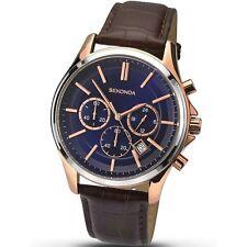 Sekonda Azul Hombre Esfera Reloj Cronógrafo 1180