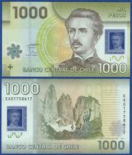 Chile 1000 pesos 2010 polímero UNC p.161