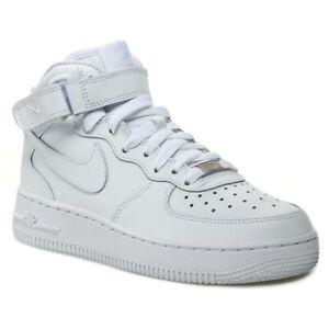 Nike Air Force 1' 07 Mid Herrenschuhe Turnschuhe Herren Sneakers Weiß 315123 111