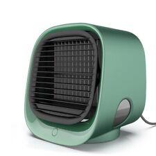 Portable Mini Air Conditioner Cool Cooling Bedroom USB Fan Desktop Office Room