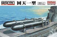Fine Molds FS1 IJN Human Torpedo KAITEN Type 1 1/72 scale kit Japan