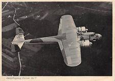 Kanpfflugzeug Dornier Do 17 Postkarte