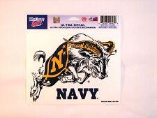 """Navy Midshipmen 5""""x6"""" Decal  IN STOCK!!"""