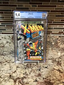 Uncanny X-men #122 1979 CGC 9.4 White Page Byrne Colossus 1st Mastermind