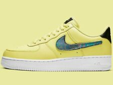 ⚫ Nike Air Force 1 LV3 Amarillo pulso ® (hombres UK: 10.5 y 12) tres Nike Swoosh