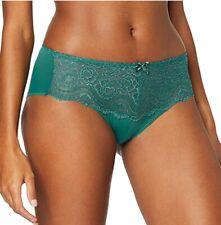 Playtex Panties Midi Model Flower Elegance Color Green