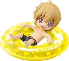 Free! - Iwatobi Swim Club 2'' Nagisa Innertube Bath Trading Figure NEW