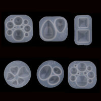 Silicone Domed Cabochon Pendants Mold Resin Casting Jewelry Making Mould