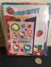 Vintage 2003 Sanrio Hello Kitty STRAWBERRY Letter / Stationery Set Gift Bag