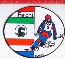 FALCHI TORINO 80s  promo sticker -  adesiva - autocollant