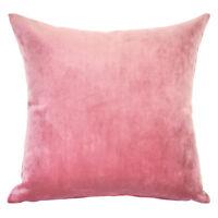 Mystere Blush Velvet Cushion Cover