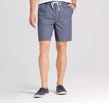 New MERONA Mens Tom Cat Gray Drawstring Elastic Waist Jogger Shorts Size XL