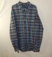 Ralph Lauren Polo Mens Long Sleeve Oxford Button Down Dress Shirt Size LARGE L