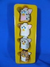 Find Furby Tiger Electronics Replacement Parts 4 Pieces Miniature Figures 1999