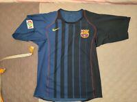 MAGLIA BARCELLONA 2004 2005 TRASFERTA - BARCELONA AWAY SHIRT JERSEY 2004 2005