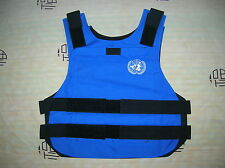 China PLA Army United Nations Blue Combat Tactical Vest