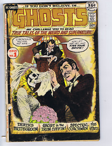Ghosts #1 DC 1971