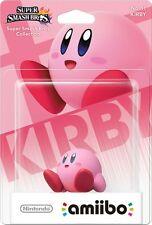 Nintendo Amiibo Kirby Character Figure Super Smash Bros Wii U 3DS Brand New!!!!!