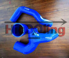 Blue Silicone Intercooler Hose Y PIPE For Subaru Impreza WRX GDA GDB GG 2000-07