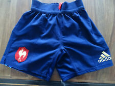 NO MAILLOT SHORT RUGBY ADIDAS EQUIPE FRANCE T.S 2015-2016