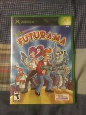 Futurama (Microsoft Xbox, 2003) Complete READ DESCRIPTION BEFORE BIDDING