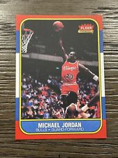1986 Fleer Michael Jordan REPRINT Rookie Novelty Rc Basketball Card